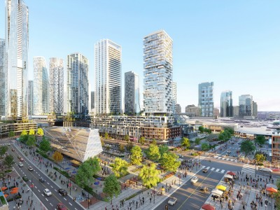 A massive development will change downtown Mississauga forever, bringing offices and residential units to its urban core