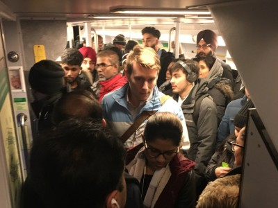 As rail-commuter fury mounts in the city about overcrowding, schedule changes, Ford government announces extra capacity on packedGO line