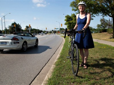 Brampton cyclists fight an uphill battle in the car-crazy city; bike-friendly communities enjoy a different reality