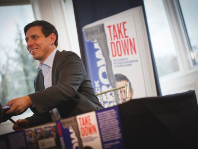 Brown defiant and unapologetic at launch for tell-all memoir Takedown