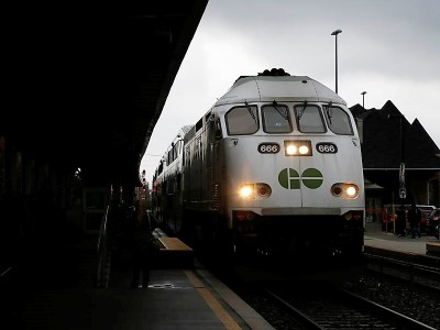 Cancelled 4:50 express GO train from Toronto to Brampton is coming back