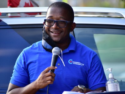 Conservative candidate Jermaine Chambers promises to work with Province, City to get Brampton its fair share