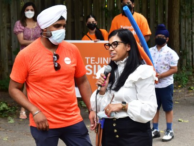 COVID-19 left Brampton's essential workers exposed, Tejinder Singh thinks the NDP's pharmacare plan is the solution