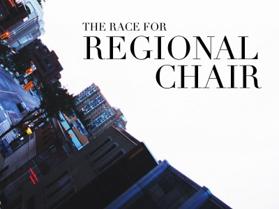 Familiar faces, rivalries to define regional chair race
