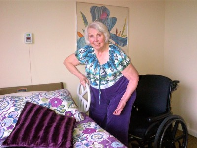 For families with loved ones in long-term care the slow drip of information is agonizing