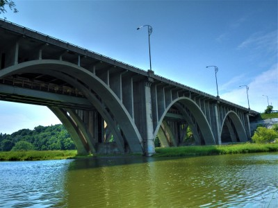 Ford government wants to reduce public involvement that saved QEW Credit River bridge