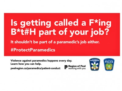 Is getting punched part of your job? Campaign hopes to curb violence against paramedics