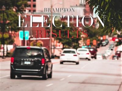 Liberals repeat in all five Brampton ridings