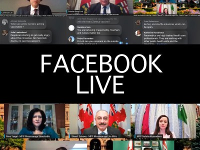 Mississauga MPPs' Q&A demonstrates the pitfalls and potential of Facebook Live in local politics