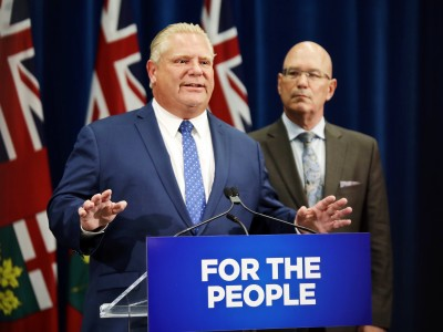 Ontario municipalities where the PCs get their power should fight Doug Ford
