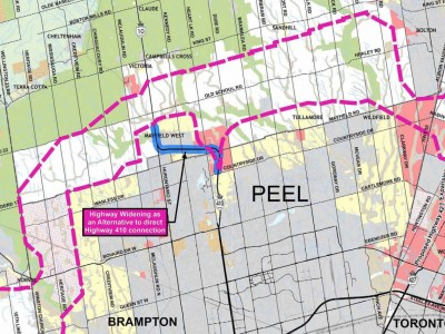 Opposition gearing up for round two in fight against GTA West Highway