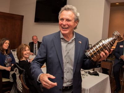 Paul Henderson doesn't need to be in hockey's hallowed hall – he's thriving in God's House