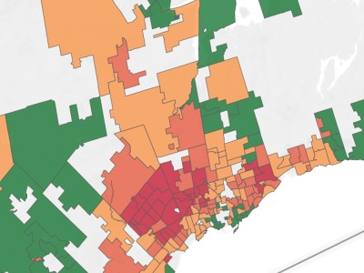 Peel neighbourhood positivity rates as high as 20%