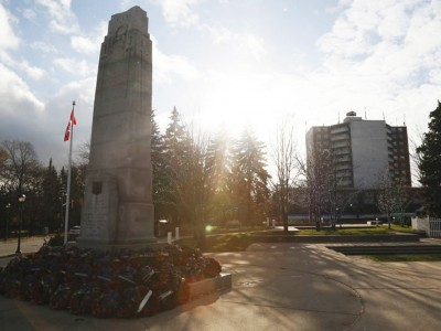 Planned new war memorial delayed by Ken Whillans Square revitalization