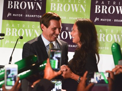 Redemption in Brampton: Brown takes mayoralty with a 4-point win