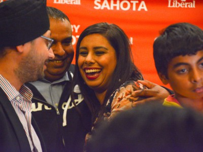 Ruby Sahota says party of 'hope and balance' prevailed in Brampton North