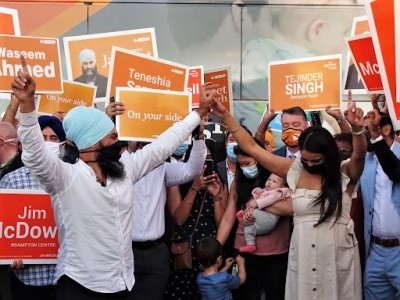 Singh feels the love in his adopted hometown but will Brampton finally deliver him a seat?