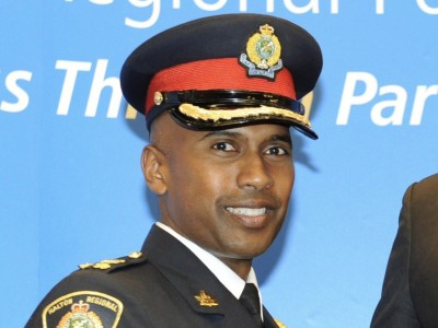 The new face of policing in Peel: Nishan Duraiappah named chief