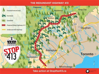 'The project should be cancelled' – new report by Environmental Defence takes aim at GTA West Highway