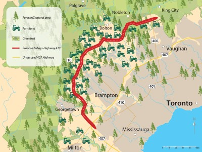 'This is a government that would pave the Greenbelt': Ford moves to 'streamline' environmental study for GTA West Highway