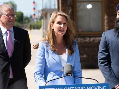 Transportation Minister reannounces more train service on the Kitchener line