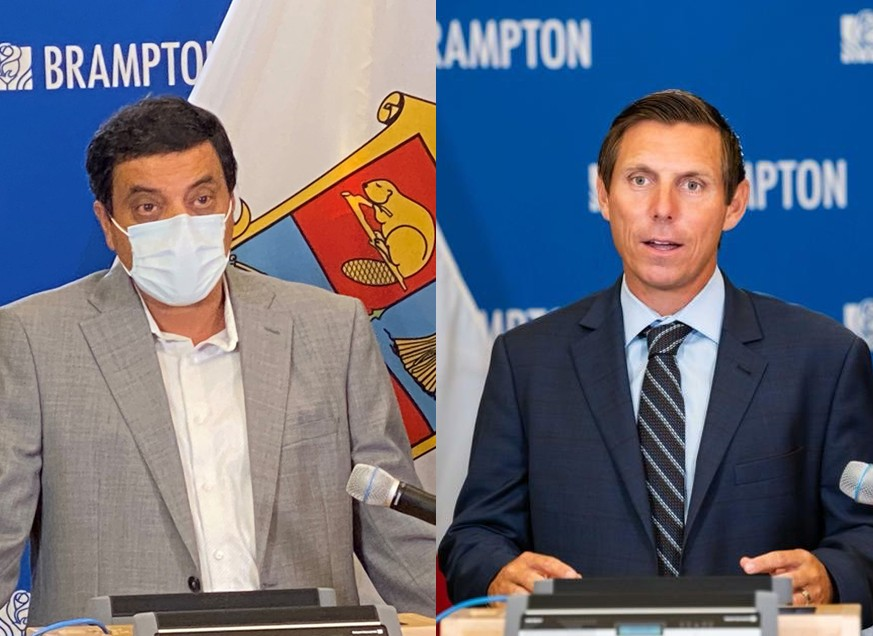 After Ford calls Brampton's pandemic response 'broken', local leaders refuse to take any responsibility