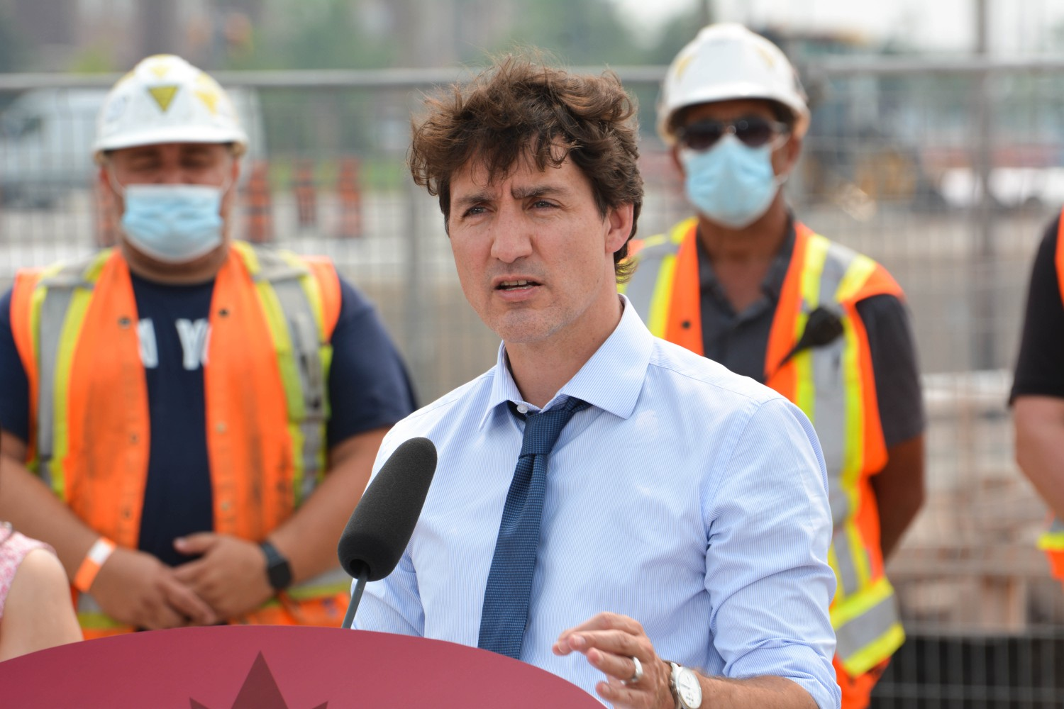 Amid speculation of a federal election, Trudeau visits Brampton for campaign-style housing commitment