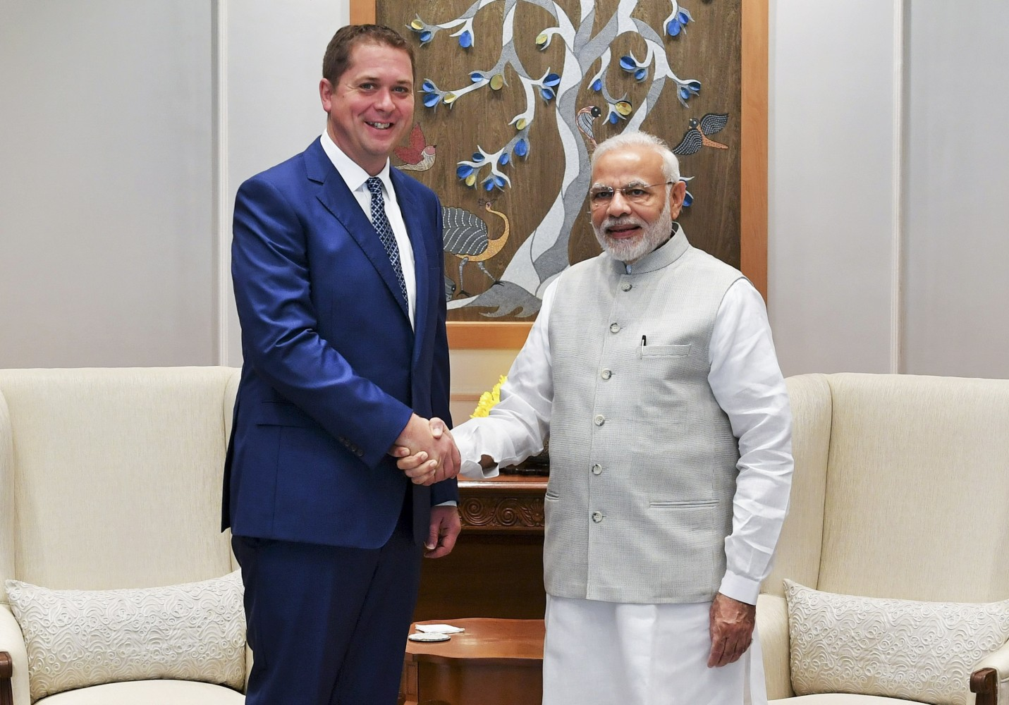 As India begins deporting Rohingya refugees Andrew Scheer and Brampton candidate skirt issue of country's appalling human rights record during visit