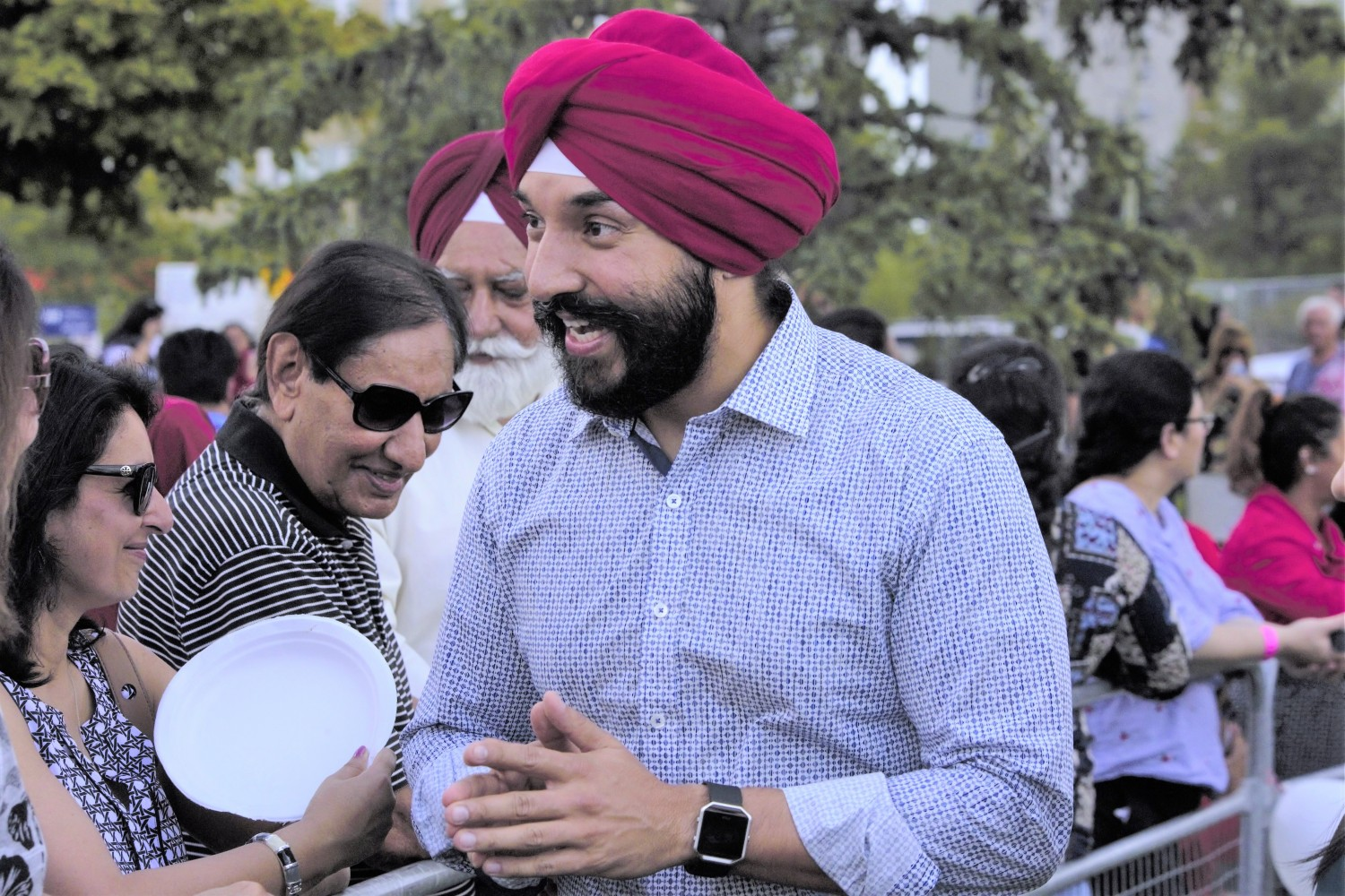 Bains grilled in House of Commons over photo with director of company that sold land to Brampton
