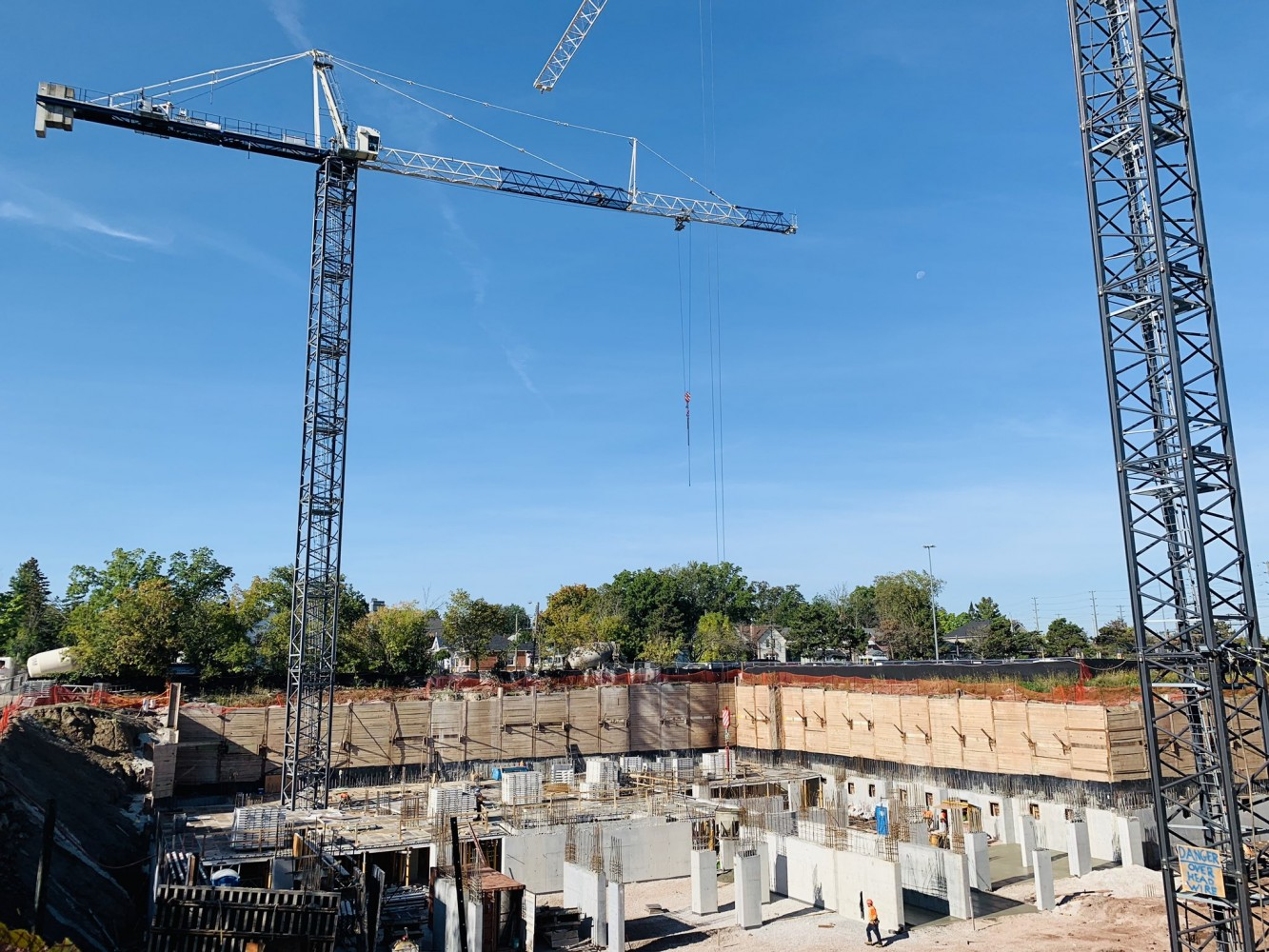 Balancing development interests and worker safety, construction sites will remain open in Peel