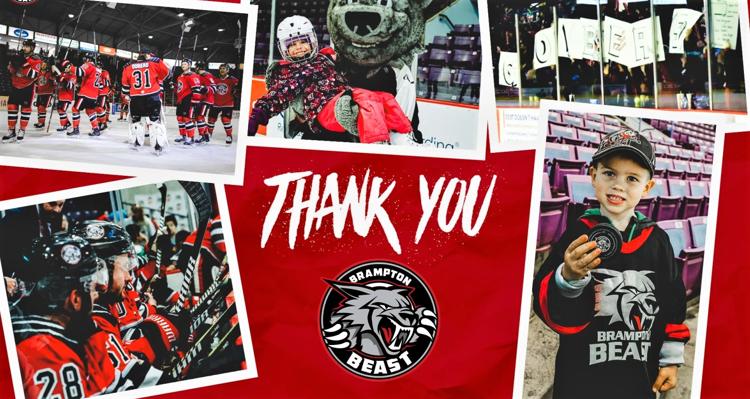 Brampton Beast always skated on thin ice