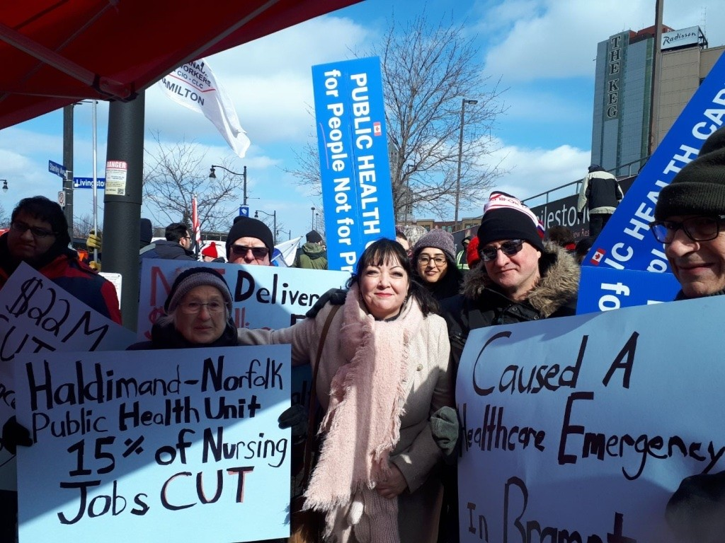 Brampton calls on the province to halt healthcare cuts yet again