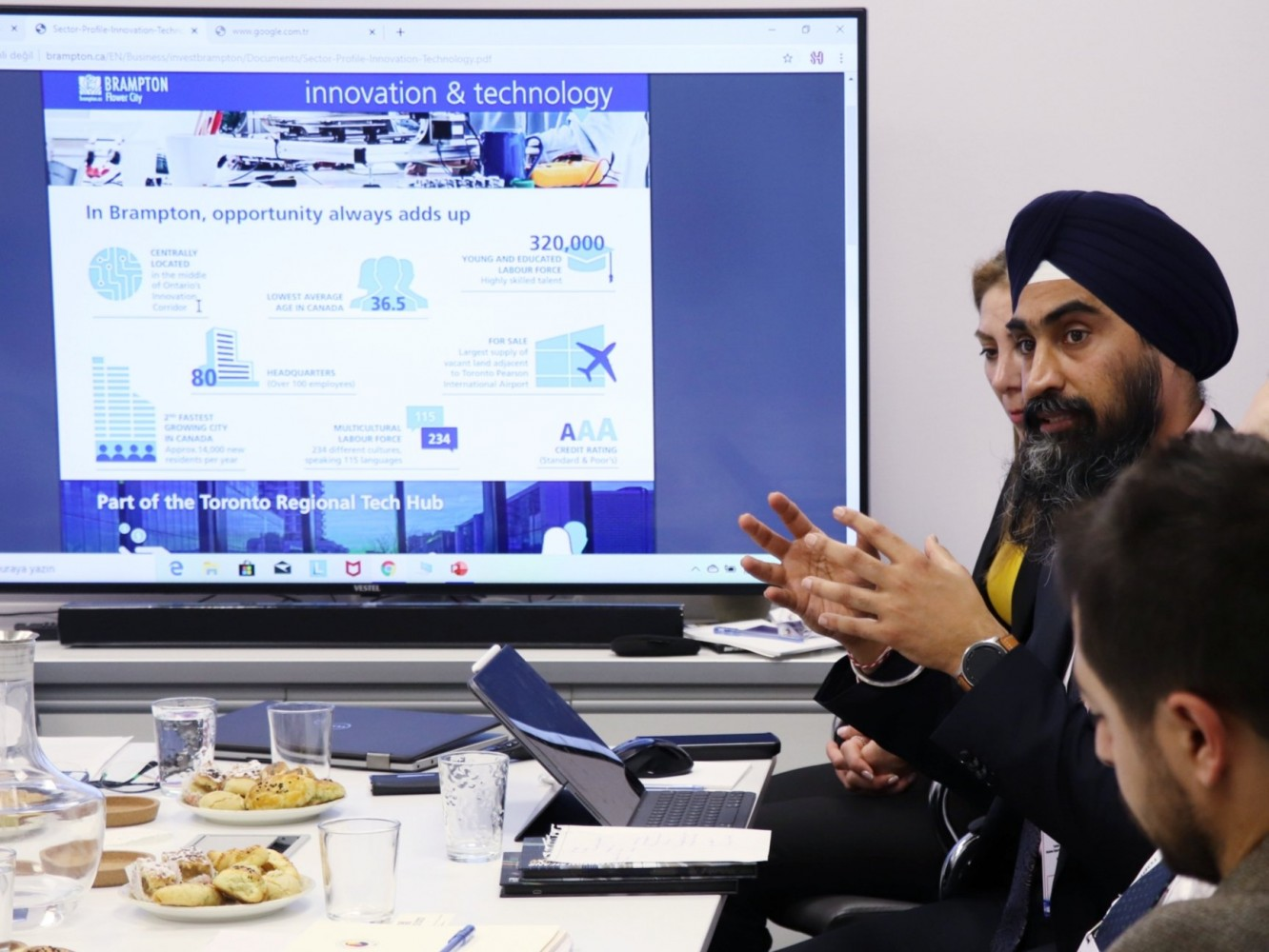 Brampton bets on FDI to set itself apart and attract new business
