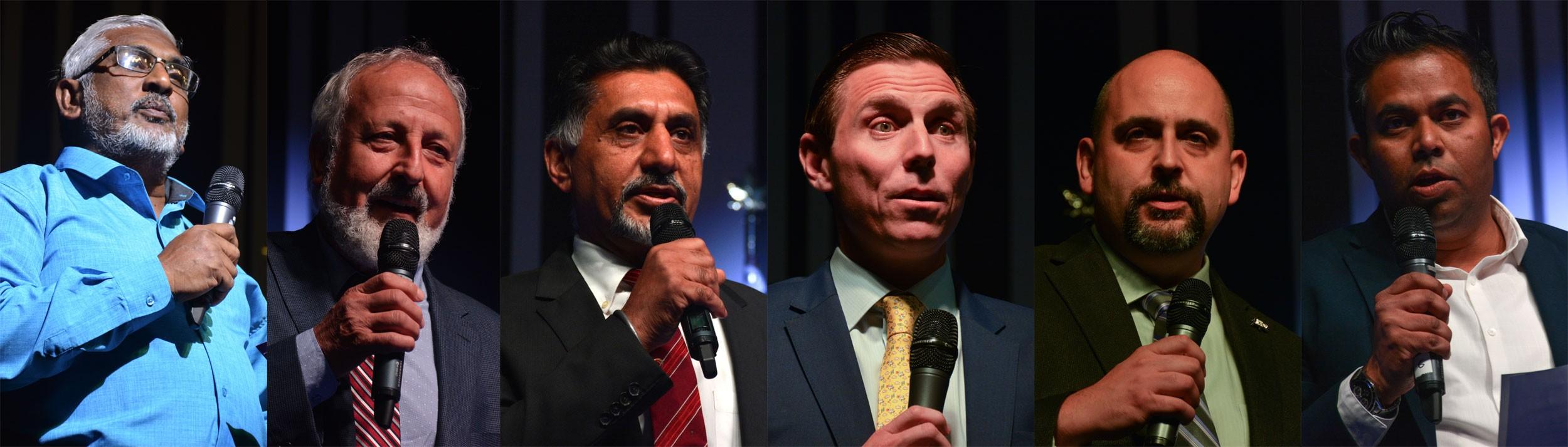 Brown impresses after Jeffrey calls in sick for debate