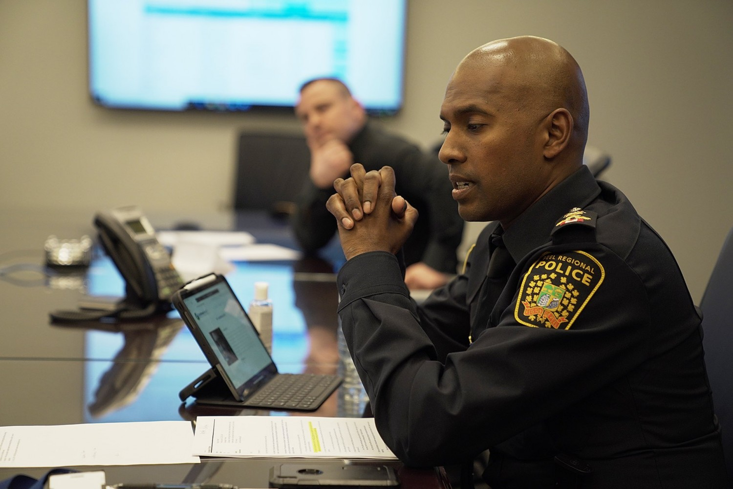 Chief recruits reinforcements from Halton to help fix issues that plague Peel police