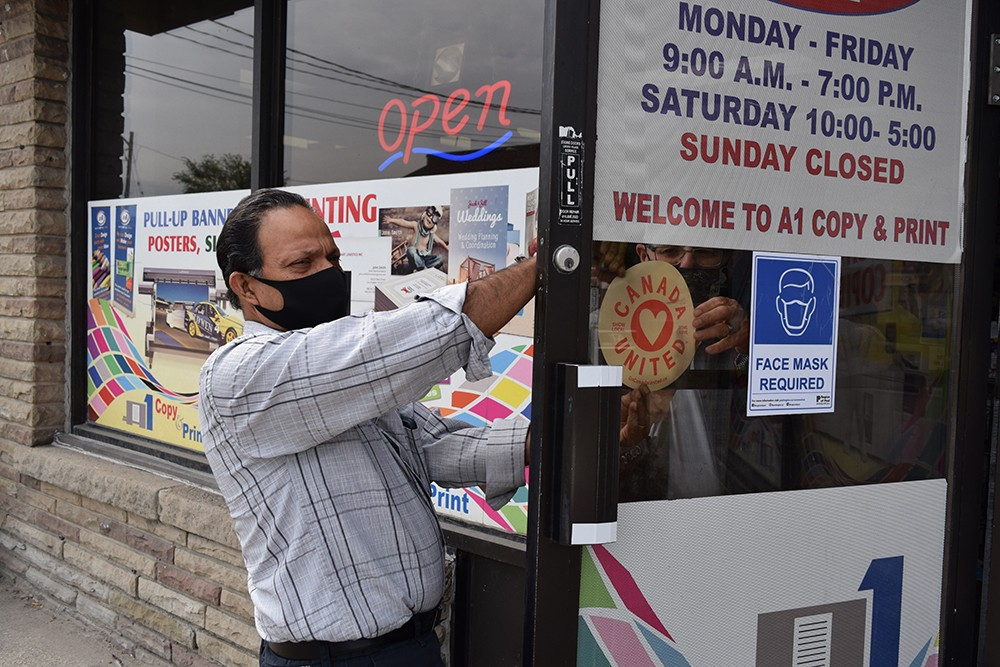 Could Brampton's high rates of COVID-19 sink struggling businesses in Mississauga?