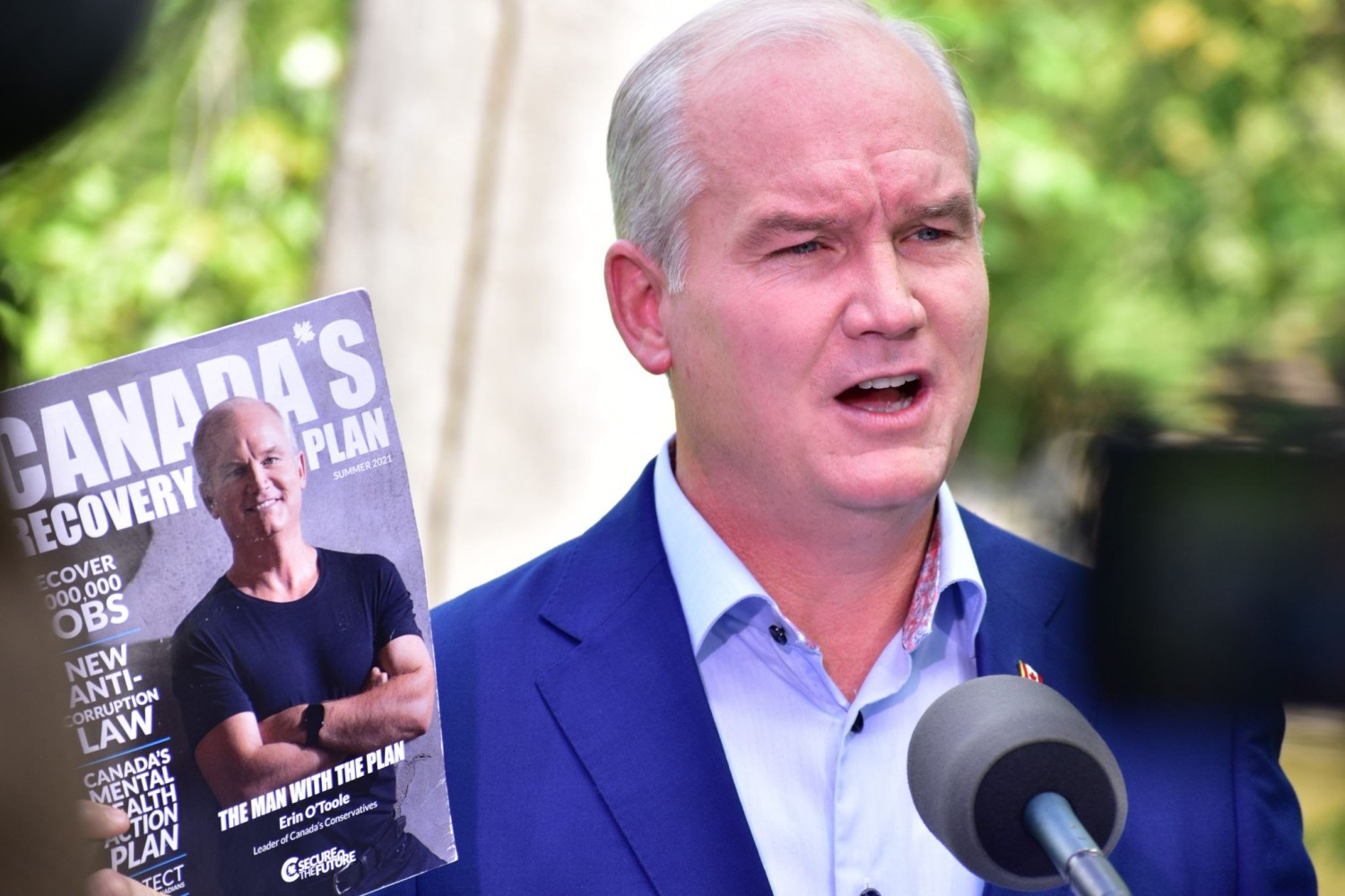 Erin O'Toole visits Mississauga to convince Peel voters to return