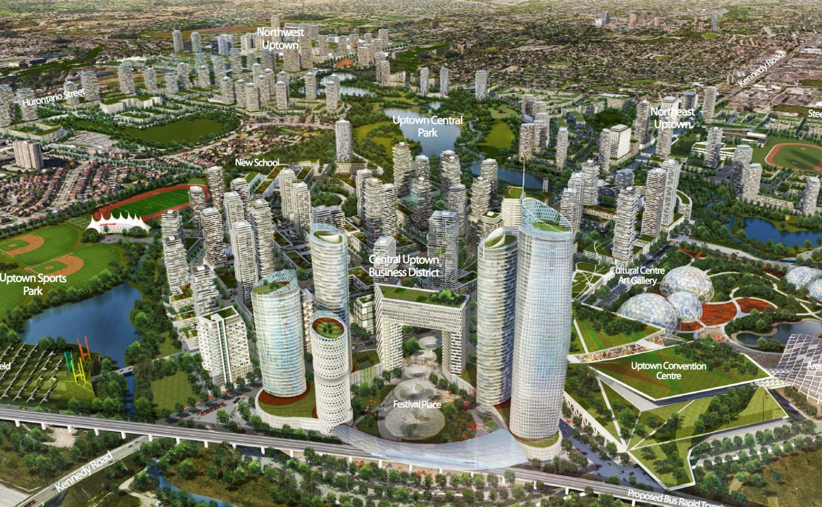 Going under the microscope, could the 2040 Vision become Brampton 2060?