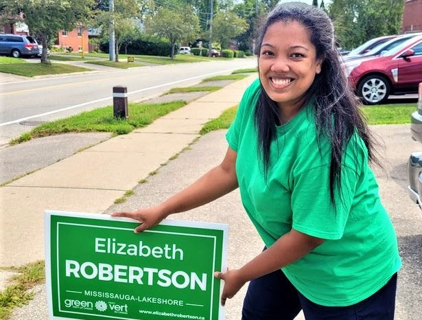 Green candidate Elizabeth Robertson: justice for nature in Mississauga—Lakeshore & money for cities