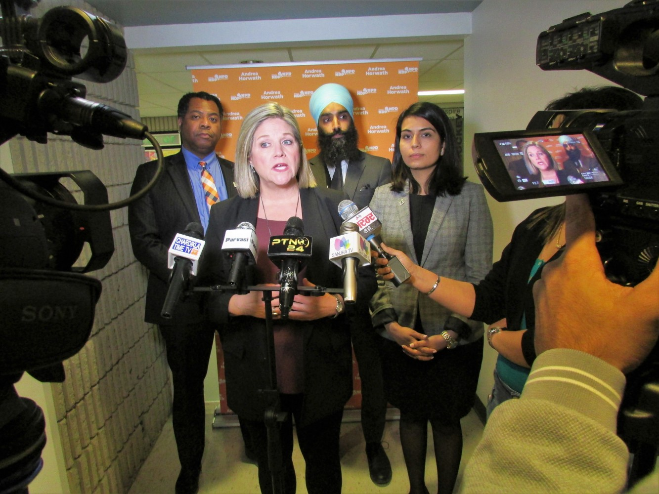 Horwath tables bill to curb Ford's power over cities, saying he meddles to take revenge
