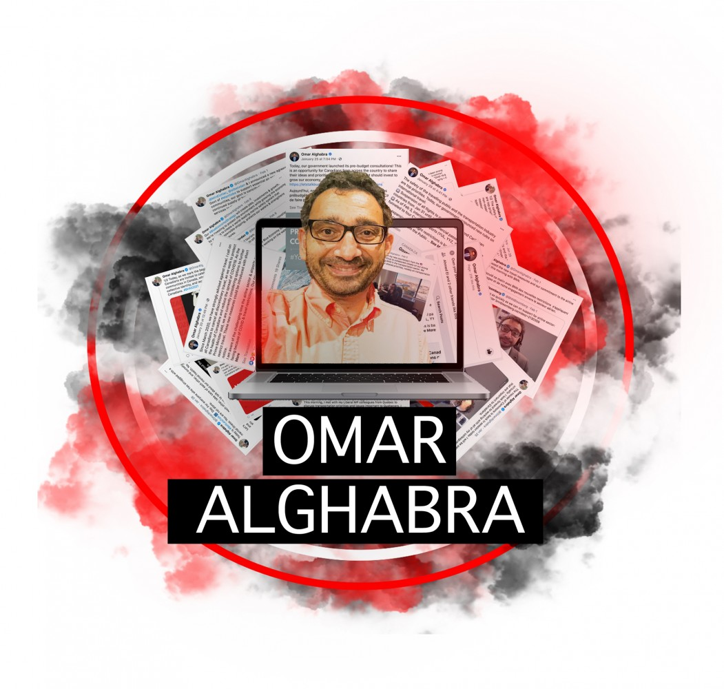 How hard is Transport Minister Omar Alghabra working to stay connected to his Mississauga constituents?