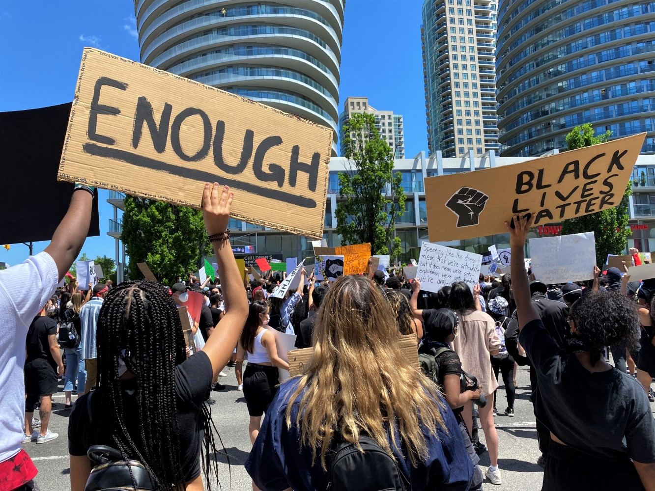In a city with its own legacy of racism, Mississauga's Black Lives Matter demonstration offered a dose of reality and hope