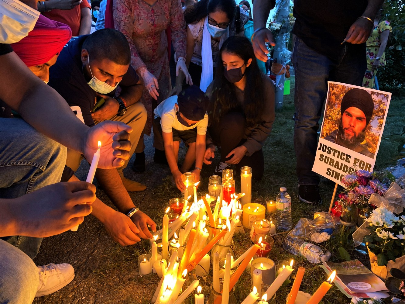 In Brampton a community mourns another senseless killing