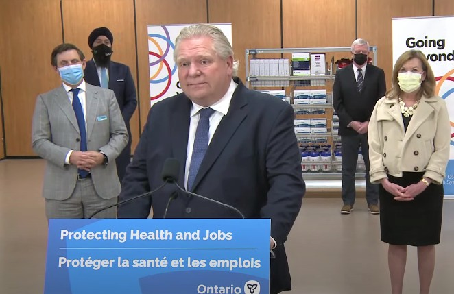 In full campaign mode Ford announces 250 hospital beds for Brampton – the city asked for 850