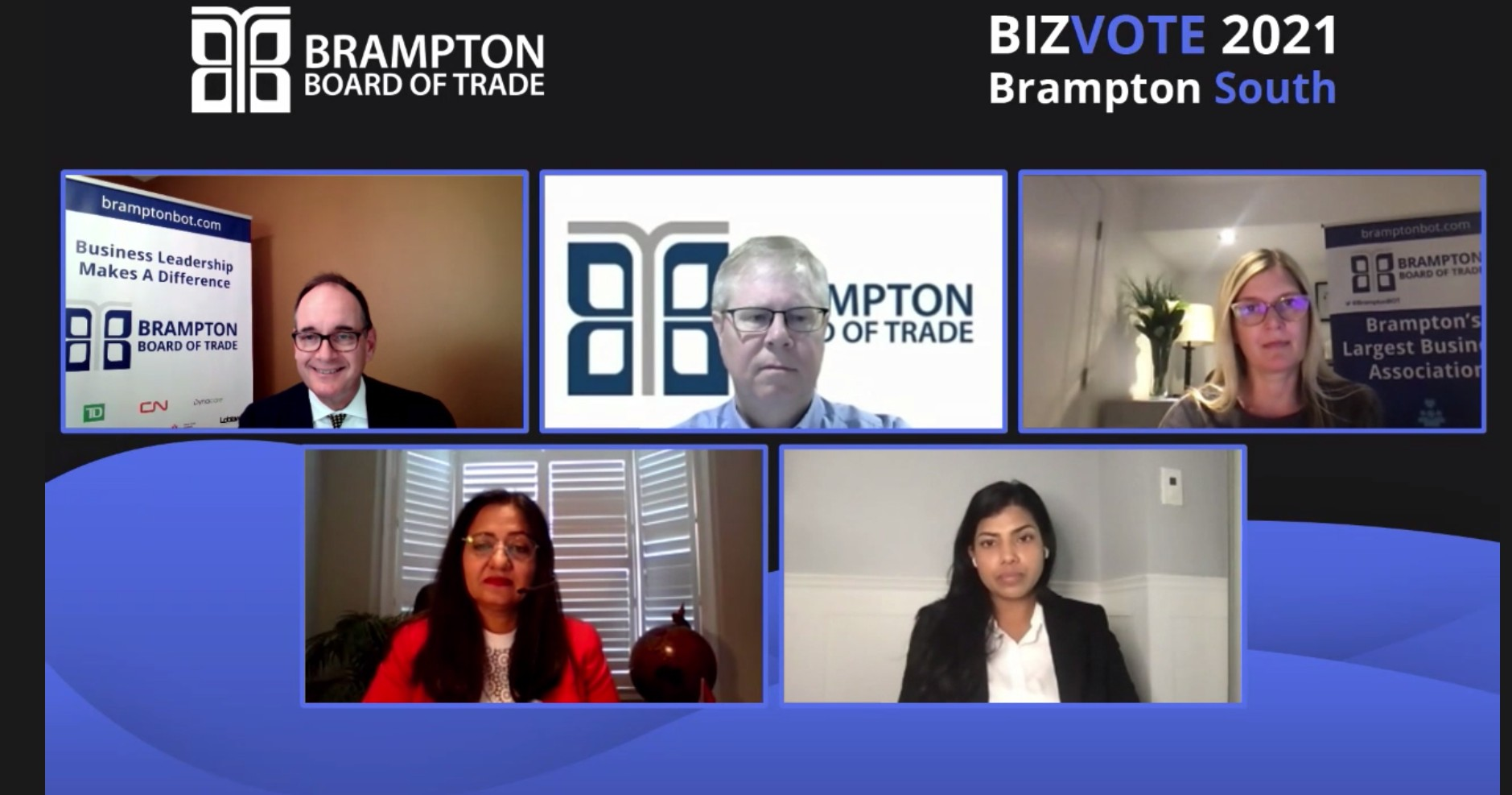 Liberal incumbents participate in Brampton Board of Trade debate, many NDP, Green and CPC candidates decline
