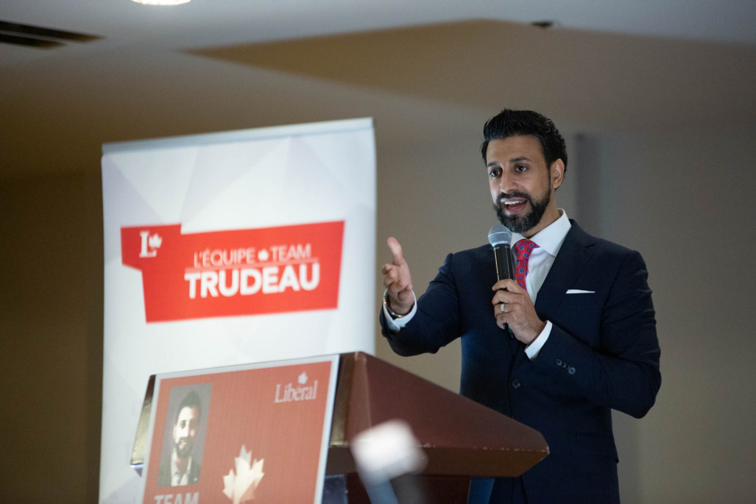 Liberals nominate unknown Maninder Sidhu to challenge Raj Grewal