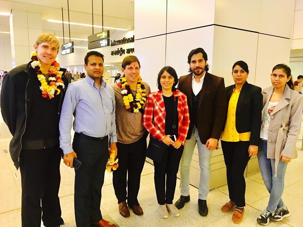 """Mayor Patrick Brown takes """"personal"""" trip to India – his 19th"""
