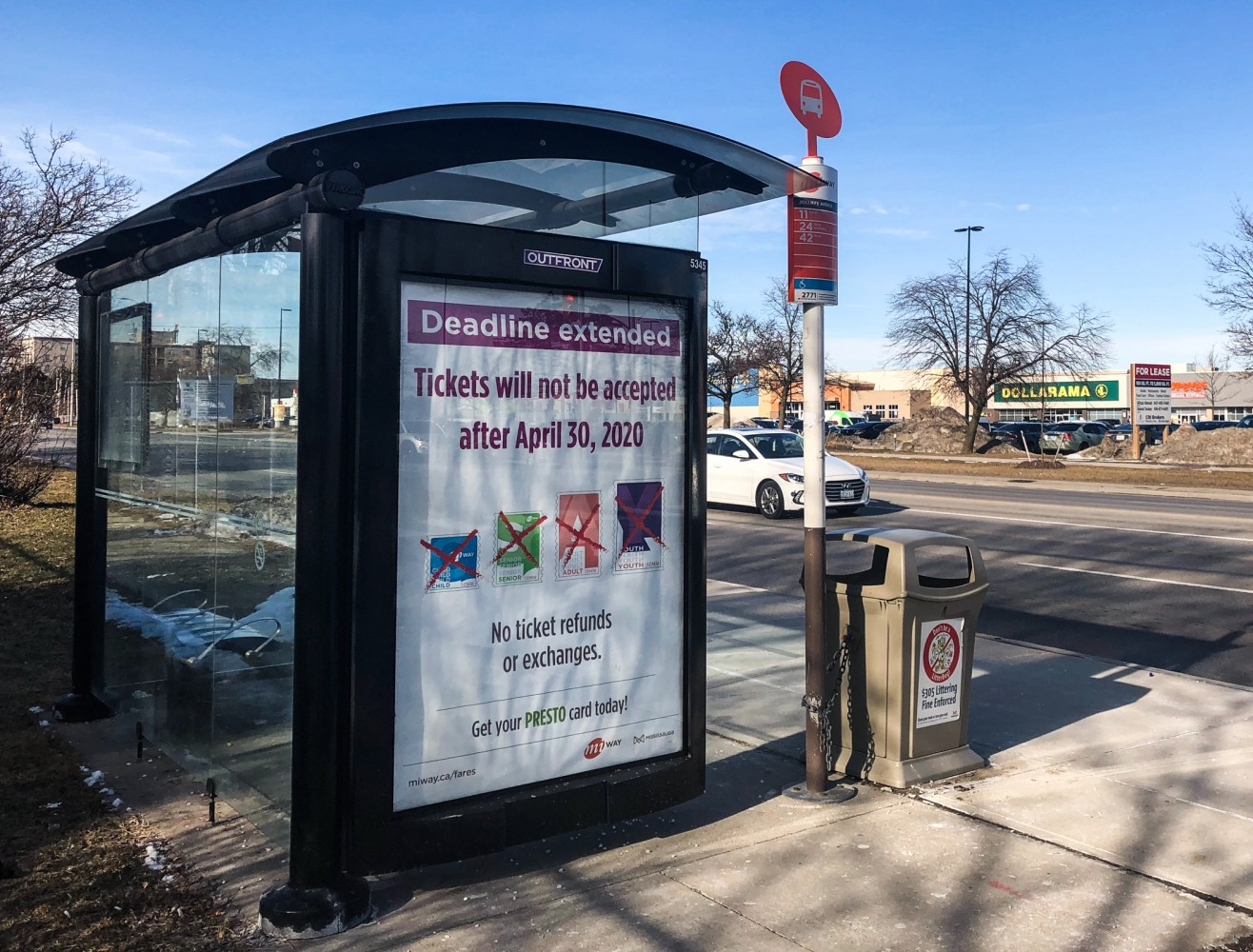 Mississauga real estate firm sues City, alleges bus shelter advertising being managed like a monopoly
