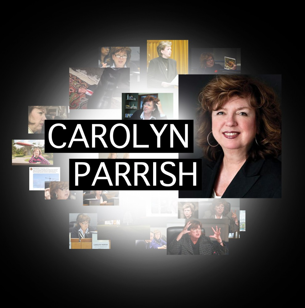 Mississauga's Carolyn Parrish: what you see is what you get