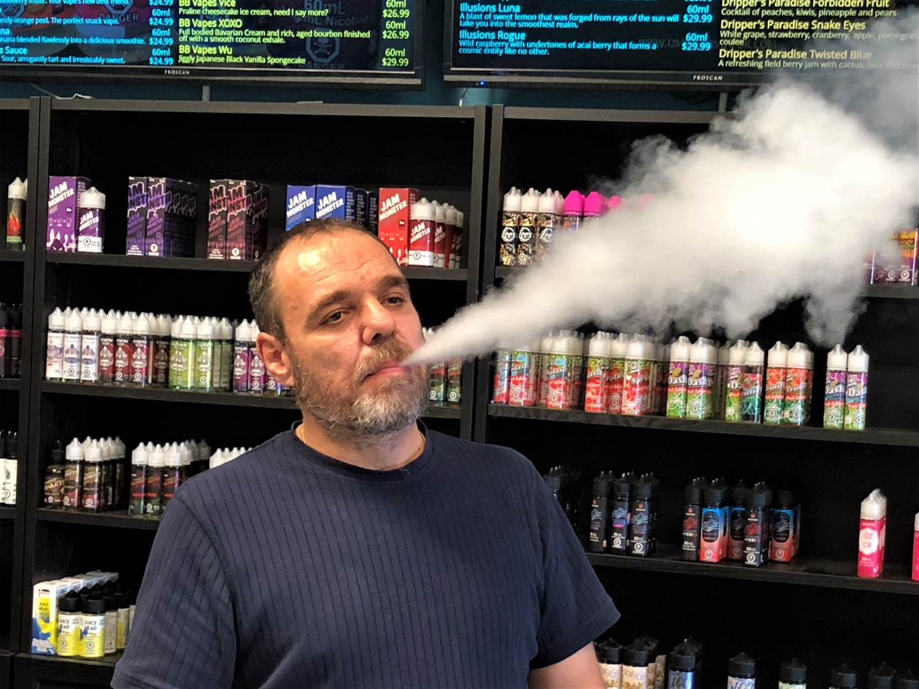 Mississauga vape shop feeling the heat after news of vaping-linked illnesses and deaths